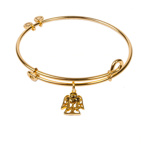 Novobeads Angel, Bangle 18K Gold Plated