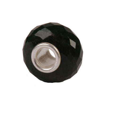 Novobeads Faceted Black Onyx