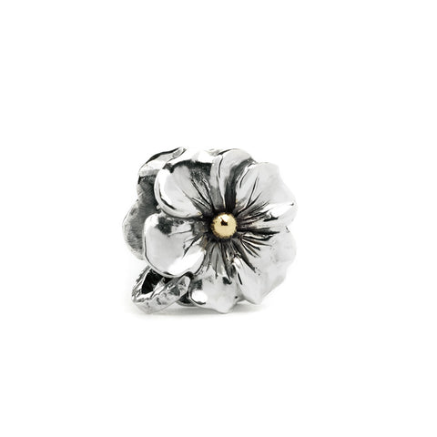 Novobeads Blossom, Silver with 14K Gold