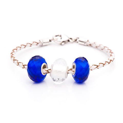 Novobeads Blue/White