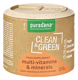 Clean & Green Multinutrients Bio 60 Tab.