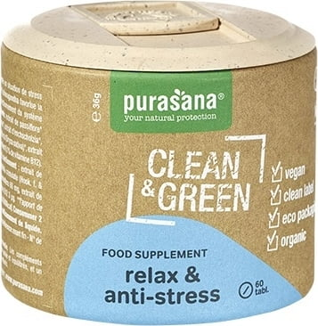 Bio Clean & Green Relax & Anti-Stress 60 Tab.