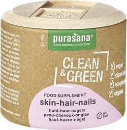 Clean&Green skin - hair - nails Bio 60 Tab.
