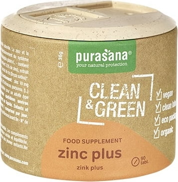 Clean&Green zinc plus Bio 60 Tab.