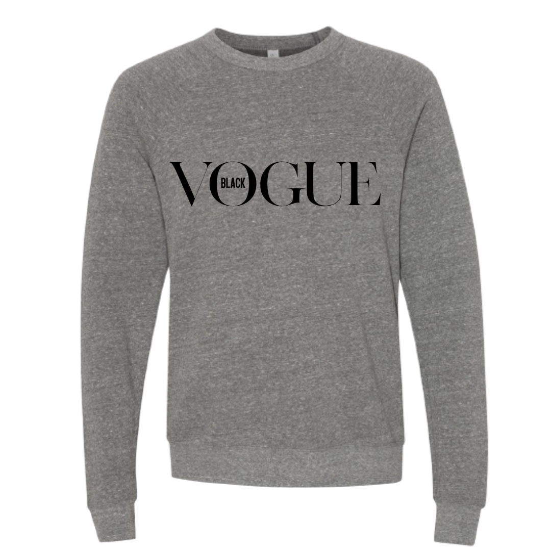 Black Vogue Sweatshirt