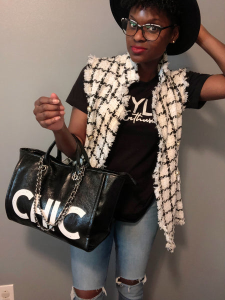 Chic Chain Tote Bag