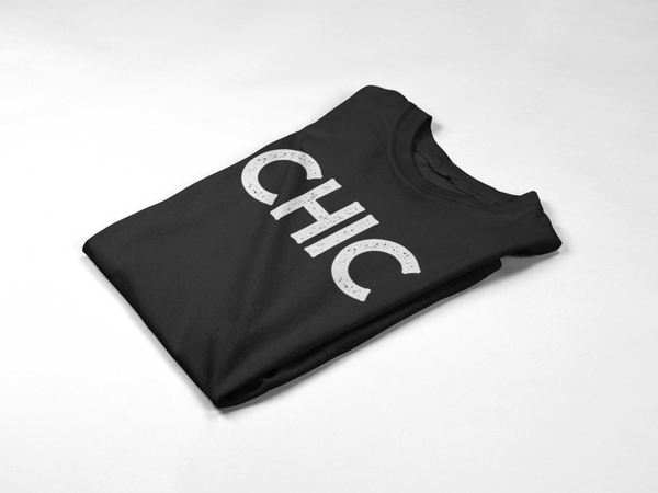 Chic Tee (Distressed Logo)