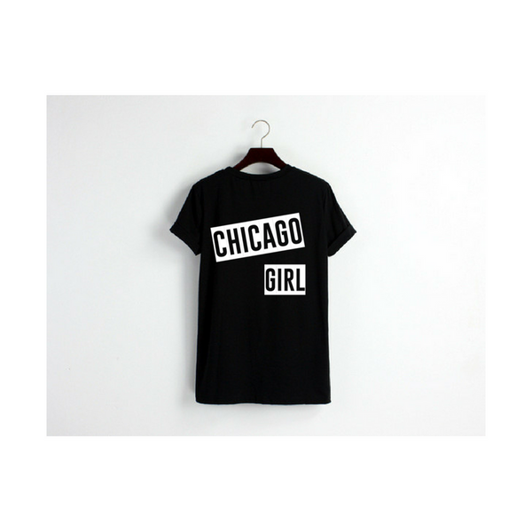 Chicago Girl Block Tee