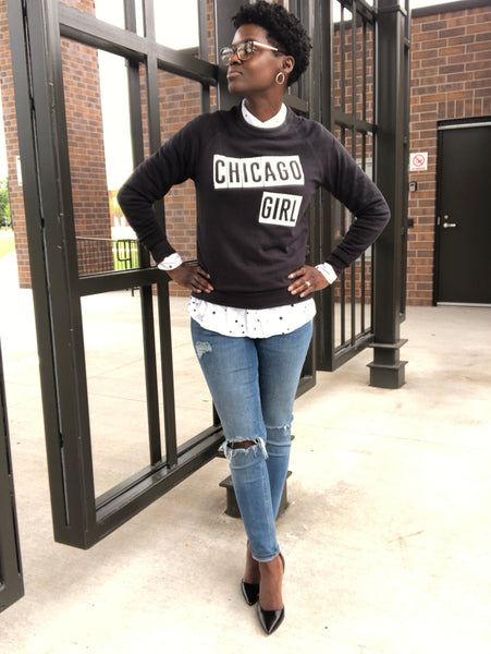 Chicago Girl Sweatshirt