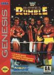 WWF Royal Rumble for Sega Genesis Game