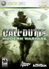 Call of Duty 4 Modern Warfare for Xbox 360 Game