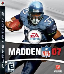 Madden 2007 for Playstation 3 Game