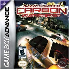 Need for Speed Carbon Own the City for GameBoy Advance Game