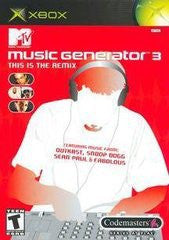 MTV Music Generator 3 This is the Remix for Xbox Game