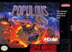 Populous for Super Nintendo Game