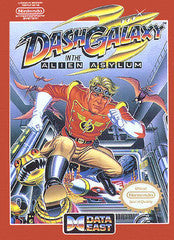 Dash Galaxy in the Alien Asylum for NES Game