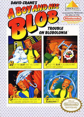 A Boy and His Blob Trouble on Blobolonia for NES Game