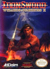 Iron Sword Wizards and Warriors II for NES Game