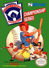 Little League Baseball for NES Game