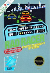 Rad Racer for NES Game