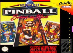 Super Pinball Behind the Mask for Super Nintendo Game