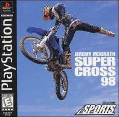 Jeremy McGrath Supercross 98 for Playstation Game