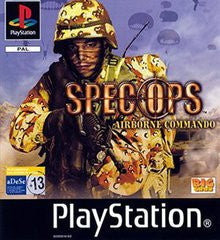 Spec Ops Airborne Commando for Playstation Game