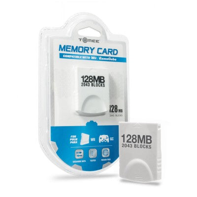 128MB Memory Card Wii/Gamecube
