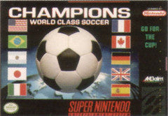 Champions World Class Soccer for Super Nintendo Game
