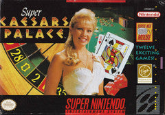 Super Caesar's Palace for Super Nintendo Game