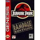 Jurassic Park Rampage Edition for Sega Genesis Game