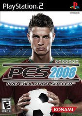 Pro Evolution Soccer 2008 for Playstation 2 Game