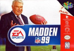 Madden 99 for Nintendo 64 Game
