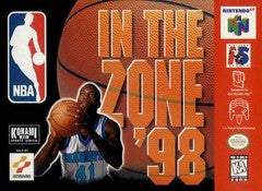 NBA In the Zone '98 for Nintendo 64 Game