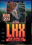 LHX Attack Chopper for Sega Genesis Game