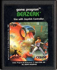 Berzerk for Atari 2600 Game