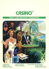 Casino for Atari 2600 Game