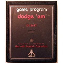 Dodge 'Em for Atari 2600 Game