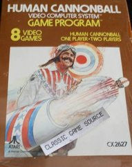 Human Cannonball for Atari 2600 Game