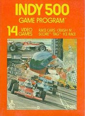 Indy 500 for Atari 2600 Game