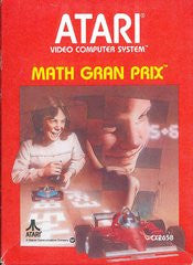 Math Gran Prix for Atari 2600 Game