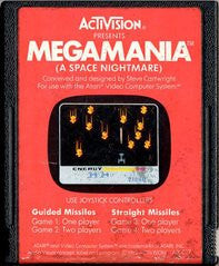 Megamania for Atari 2600 Game