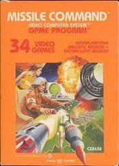 Missile Command for Atari 2600 Game