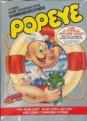 Popeye for Atari 2600 Game