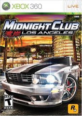 Midnight Club Los Angeles for Xbox 360 Game