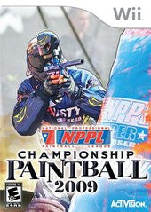 NPPL Championship Paintball 2009 for Wii Game
