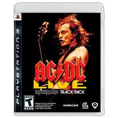 AC/DC Live Rock Band Track Pack for Playstation 3 Game