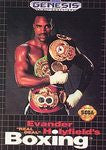 Evander Holyfield's Real Deal Boxing for Sega Genesis Game