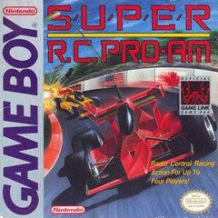 Super R.C. Pro-Am for GameBoy Game