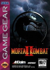 Mortal Kombat II for Sega Game Gear Game